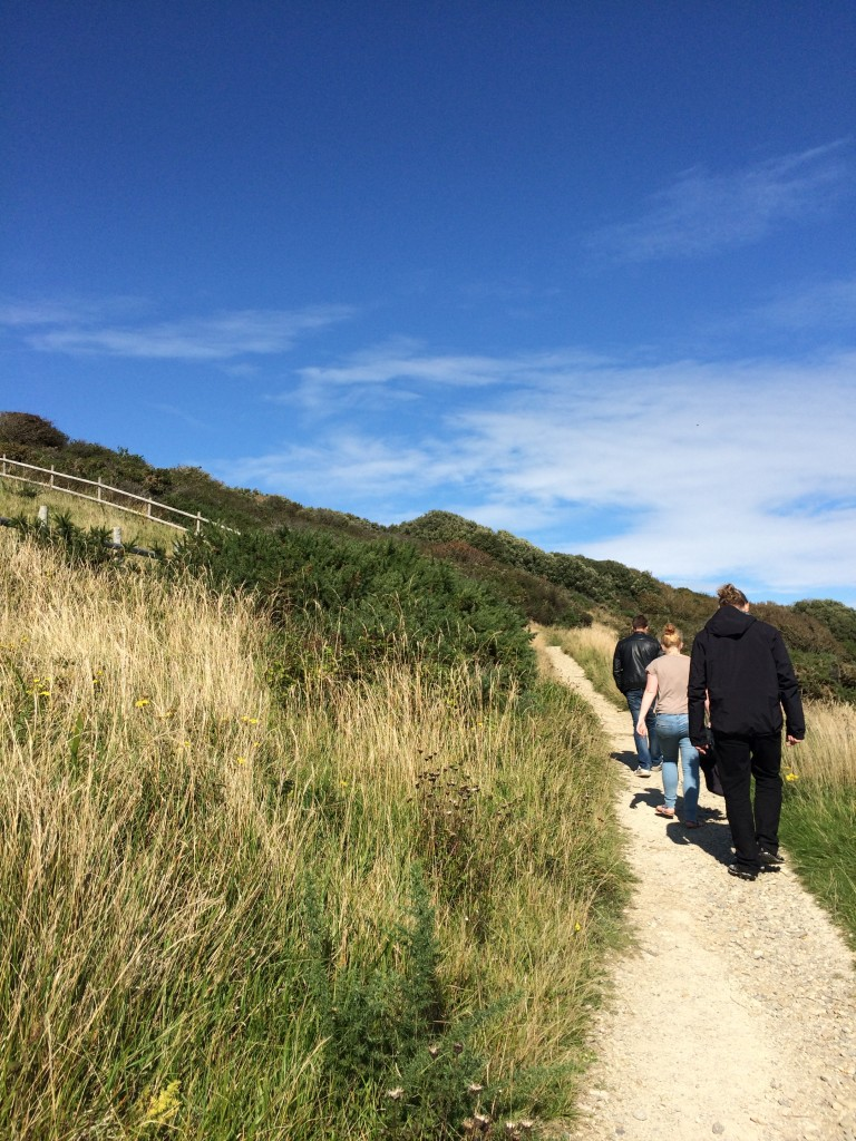 Hiking along the coastline near Swanage - Fulbright Study Abroad and Travel