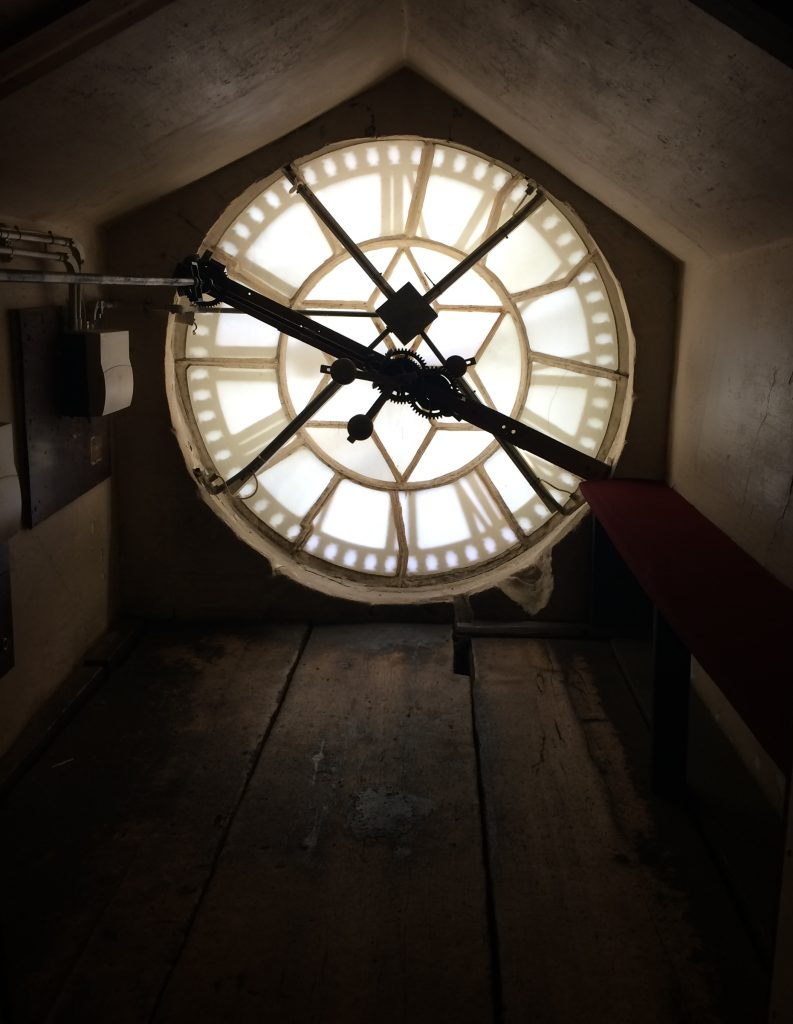 Bath Abbey Clock Face, Bath, UK - Fulbright Study Abroad and Travel