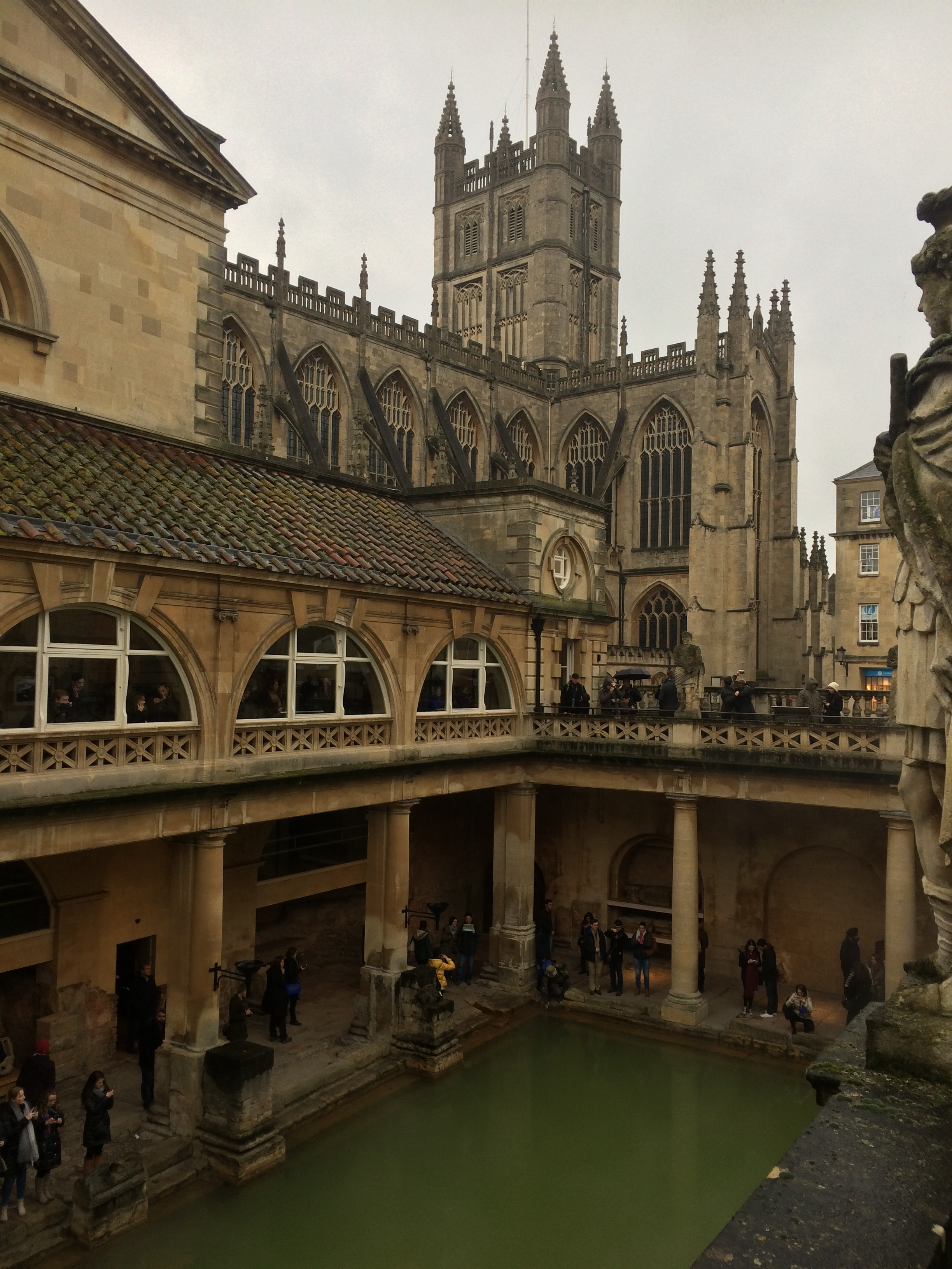 The Roman Baths, Bath, UK - Fulbright Study Abroad and Travel